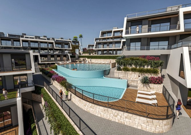 Apartments with sea views, parking and storage walkable to the beach