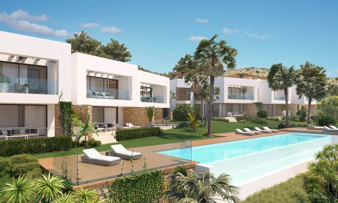 Spacious apartments with stunning views overlooking the golf course