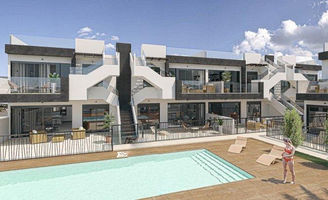 Lovely modern apartments on the Mar Menor