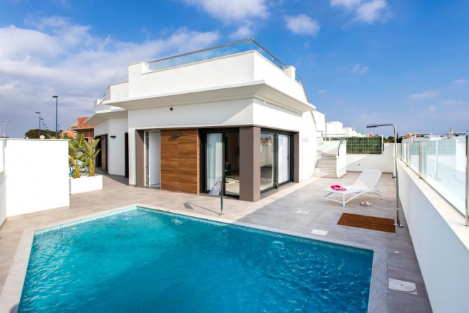 Quality Modern Detached Villas at Olivia de Roda Golf
