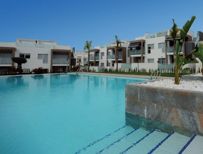 Stylish apartments with stunning sea and lagoon views