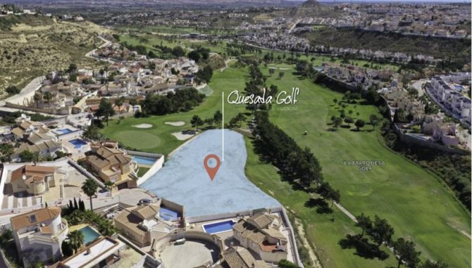 Exclusive plots on La Marquesa golf