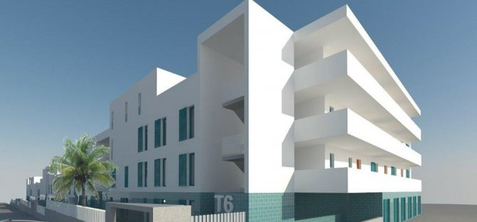 Modern apartments just 15 minutes walk from the Beach