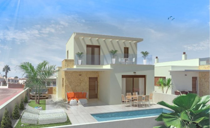 Stunning modern villas in great location