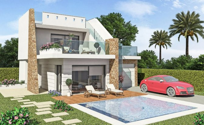 Stunning modern Villas walkable to the beach