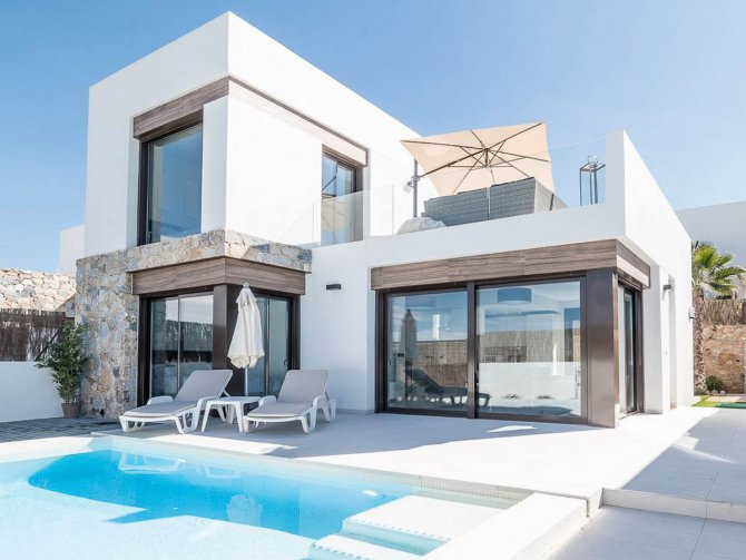 Stunning 3 bed 2bath detached villa with private pool and views of La Finca golf