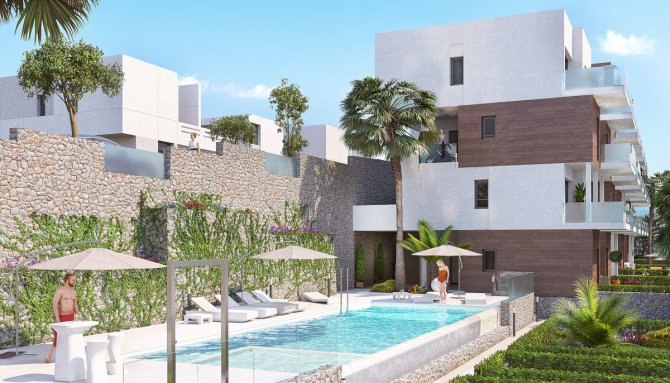 Modern apartments on Las Ramblas Golf