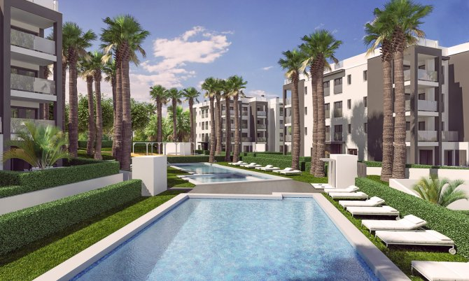 Modern  south facing apartments close to Villamartin Golf Course