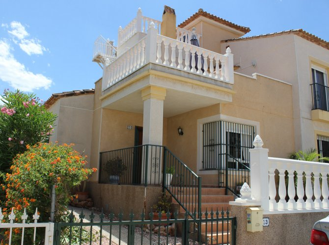 Super 3 bedroom, 2 bathroom, semi-detached townhouse with large communal pool