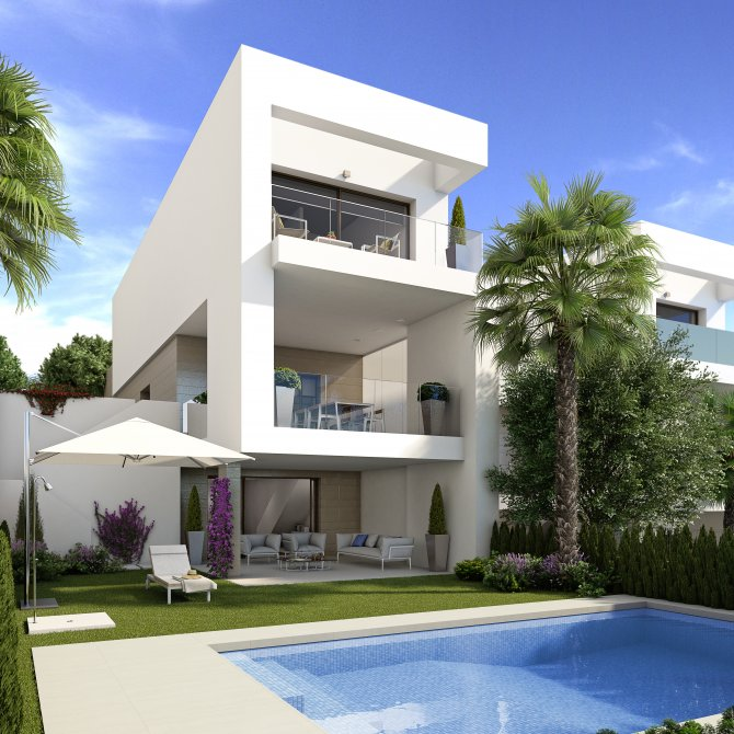 Beautiful detached villas, with private pool