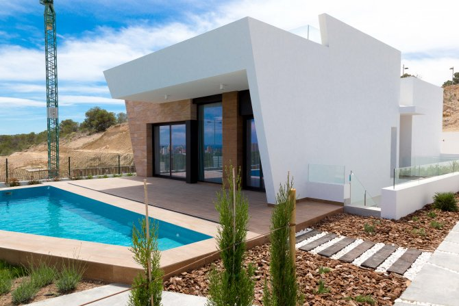 Stunning South Facing Villas with Sea Views