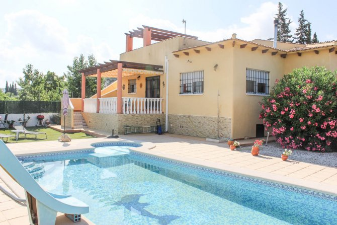 Two bed finca with private pool, stunning views and separate 1 bed accommodation