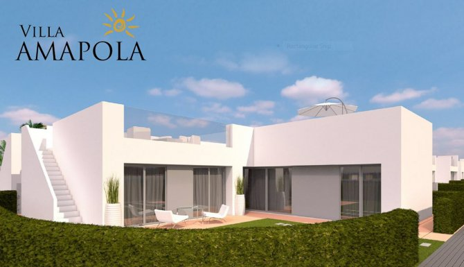 Stunning villas with communal pool set within the Lo Romero Golf Course