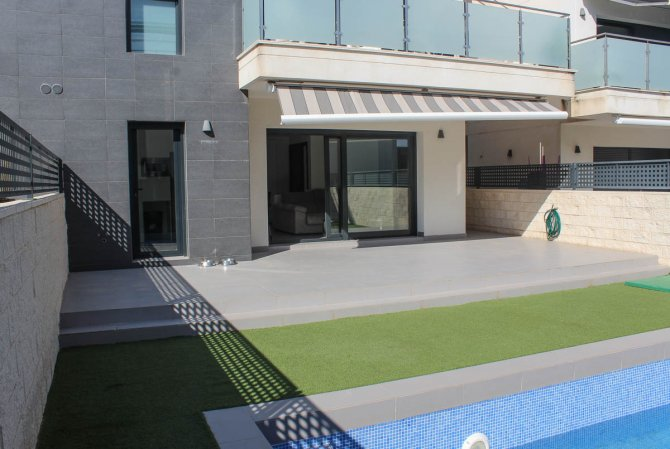 South facing 2 bedroom 2 bathroom apartment with private pool