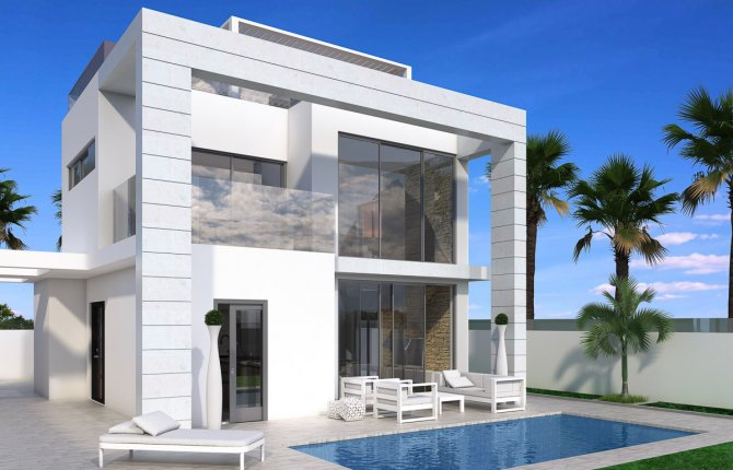 Stunning villas with private pool and sea view