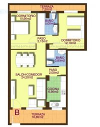 Stunning new 2-bedroom apartments within walking distance of the beach. (1)