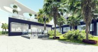 Modern middle and top floor apartments with large communal pool in El Raso (4)