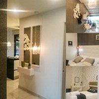 Stylish modern apartment complex with gym and spa area (2)