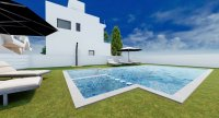 New style apartments in small development with communal pool (14)