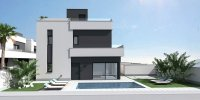 Contemporary villas with option of private pool (2)