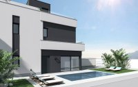 Contemporary villas with option of private pool (4)