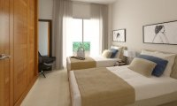 2 bed garden apartments with communal pool and Spa and beach club on the seafront of Mar Menor (12)