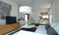 2 bed garden apartments with communal pool and Spa and beach club on the seafront of Mar Menor (13)