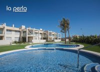 2 bed garden apartments with communal pool and Spa and beach club on the seafront of Mar Menor (0)