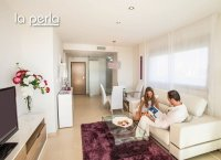 2 bed garden apartments with communal pool and Spa and beach club on the seafront of Mar Menor (7)