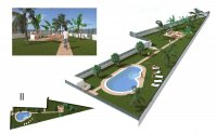 Spacious townhouses with room for private pool (20)