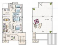 New modern fully furnished apartments with all white goods included (10)