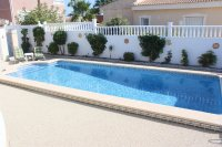 Spacious villa, one level, private heated pool two minutes' walk to the high street (27)