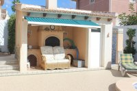Spacious villa, one level, private heated pool two minutes' walk to the high street (28)