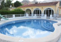 Spacious finca on large plot with private pool in Spanish village (1)