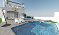 Luxurious villas walkable to the beach
