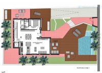 Luxurious villas walkable to the beach (23)