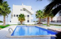 3 bed 2 bath penthouse apartments with large solarium and communal pool in La Zenia Beach II  (2)