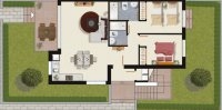 2 bed/2 bath high quality apartments with communal pool. (8)