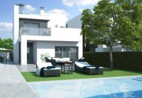 Stunning contemporary design new build 3 bed detached villas with private pool. (1)
