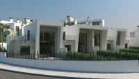 3 bed/2 bath modern style semi-detached townhouses with communal pool and solarium with spectacular sea views (11)