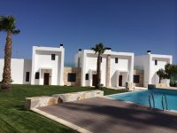 3 bed/2 bath modern style semi-detached townhouses with communal pool and solarium with spectacular sea views (12)