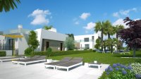 3 bed/2 bath modern style semi-detached townhouses with communal pool and solarium with spectacular sea views (2)