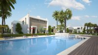 3 bed/2 bath modern style semi-detached townhouses with communal pool and solarium with spectacular sea views (8)