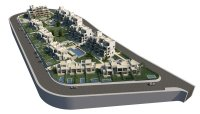 3 bed/2 bath modern style semi-detached townhouses with communal pool and solarium with spectacular sea views (13)