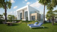 3 bed/2 bath modern style semi-detached townhouses with communal pool and solarium with spectacular sea views (1)