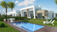 3 bed/2 bath modern style semi-detached townhouses with communal pool and solarium with spectacular sea views (0)