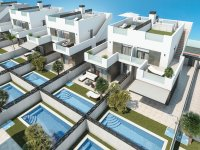 Modern villas with private pool and solarium (5)