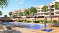 Stunning apartment with all white goods, communal pool, playground and gym (16)