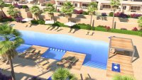 Stunning apartment with all white goods, communal pool, playground and gym (19)
