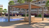 Stunning apartment with all white goods, communal pool, playground and gym (22)